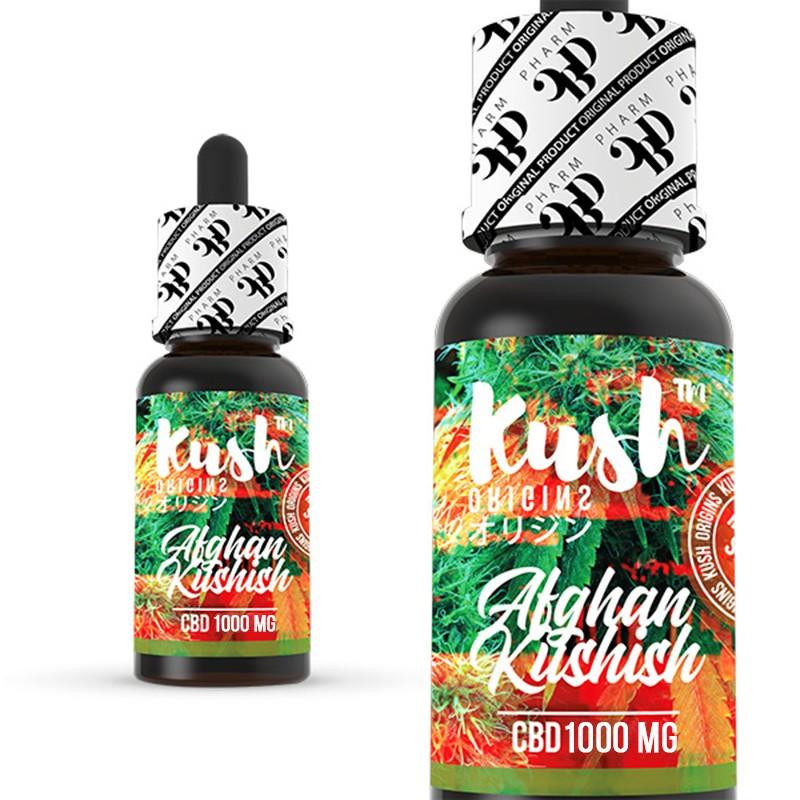 CBD Kush Origins - Afghan Kushish 10 ml 1000 mg