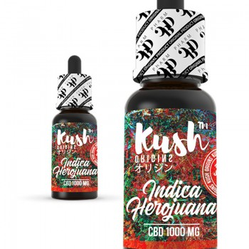 Indica Herojuana 1000 mg CBD 10 ml