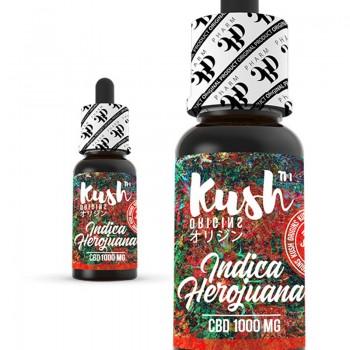 CBD Kush Origins - Indica Herojuana 10 ml 1000 mg