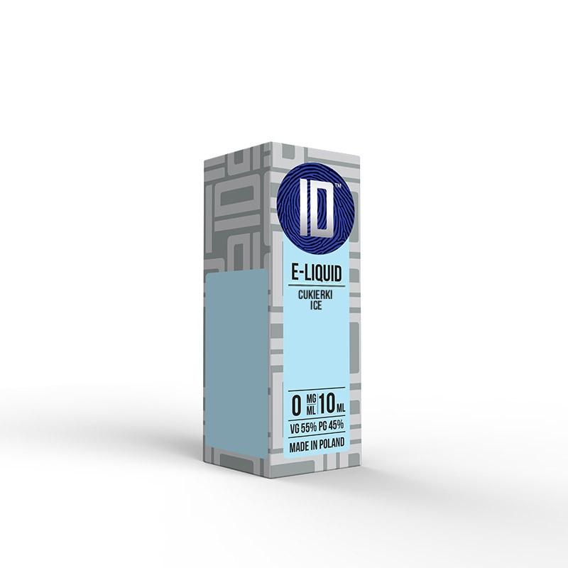 Liquid Idealny Cukierki ICE 0 mg/ml 10 ml