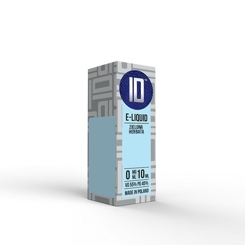 Liquid Idealny Zielona Herbata 0 mg/ml 10 ml
