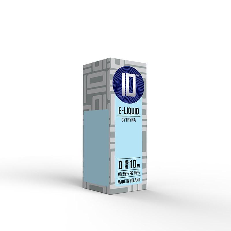 Liquid Idealny Cytryna 0 mg/ml 10 ml