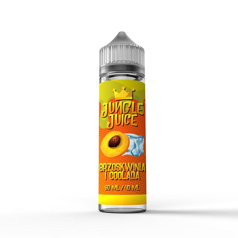 Jungle Juice Brzoskwinia i coolada 40 ml