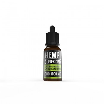 Hemp Pros Active jabłko 1000 mg 10 ml