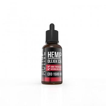 Hemp Pros Active truskawka 1500 mg 30 ml