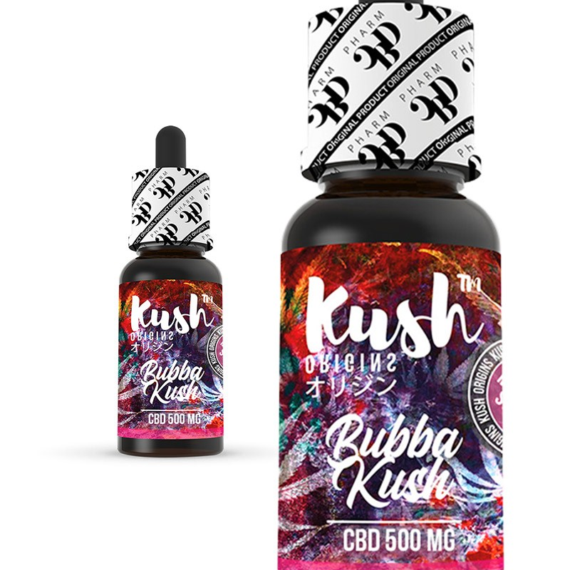 CBD Kush Origins - Bubba Kush 10 ml 500 mg