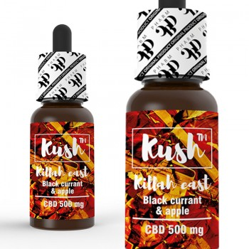CBD Kush Experience - Killah East 10 ml 500 mg