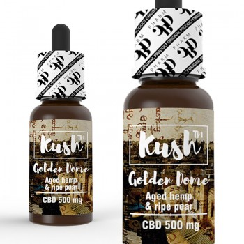 CBD Kush Experience - Golden Dome 10 ml 250 mg