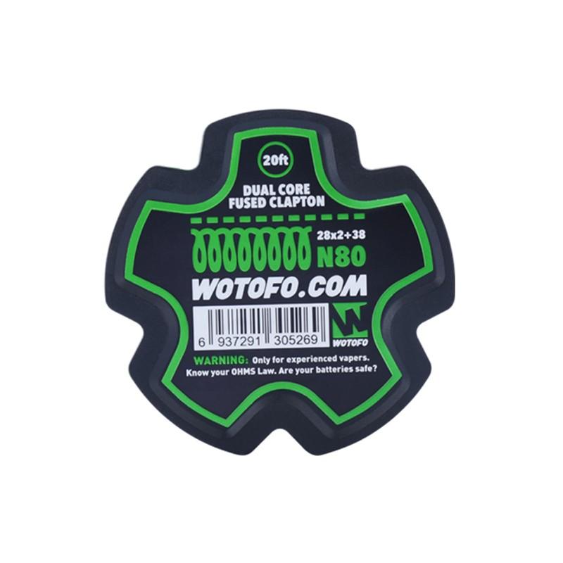 Drut Wotofo Dual Core Fused Clapton (28*2+38)