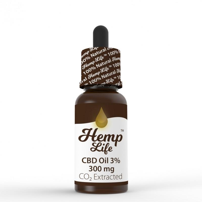 Olej konopny CBD Hemp Life 3% 10 ml