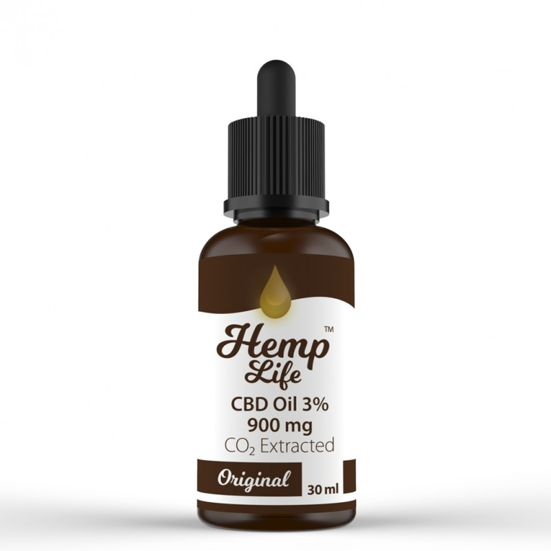 Olejek konopny CBD Hemp Life 3% 30 ml
