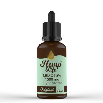Olejek konopny CBD Hemp Life 5% 30 ml