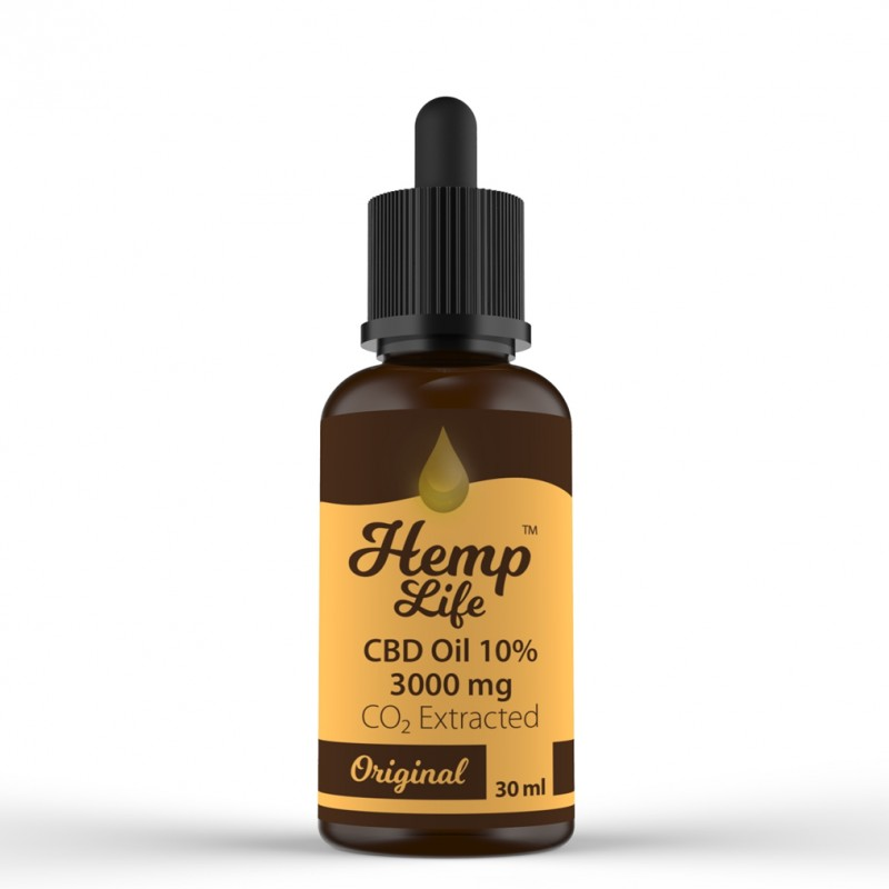 Olej konopny CBD Hemp Life 10% 30 ml