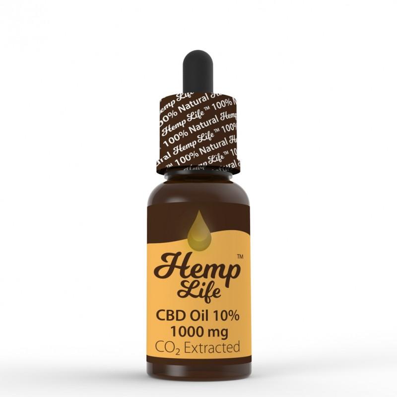 Olej konopny CBD Hemp Life 10% 10ml
