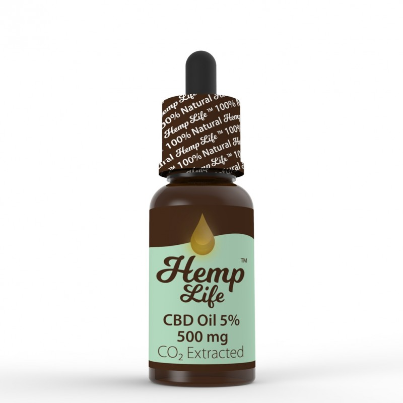 Olej konopny CBD Hemp Life 5% 10 ml