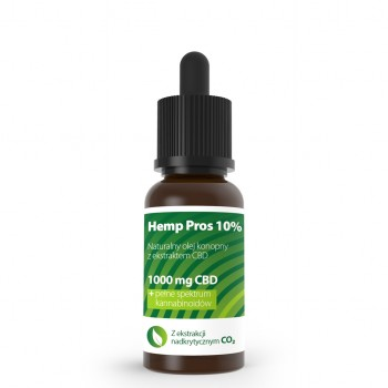 Olejek konopny CBD Hemp Pros 10% 10 ml