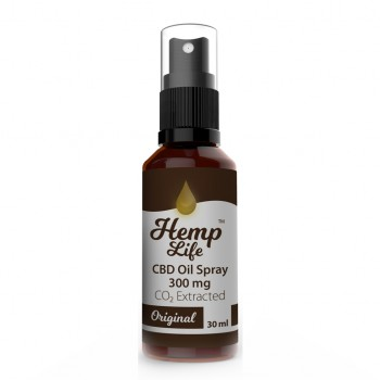 Hemp Life Spray Natural 300 mg 30 ml