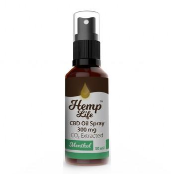 Hemp Life Spray Menthol 300 mg 30 ml