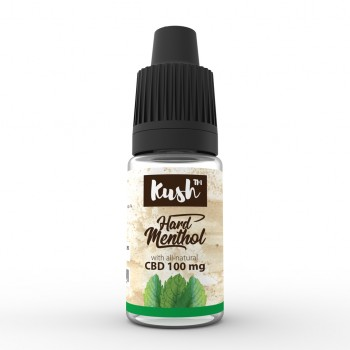 CBD Kush Basics - Hard Menthol 10 ml 100 mg