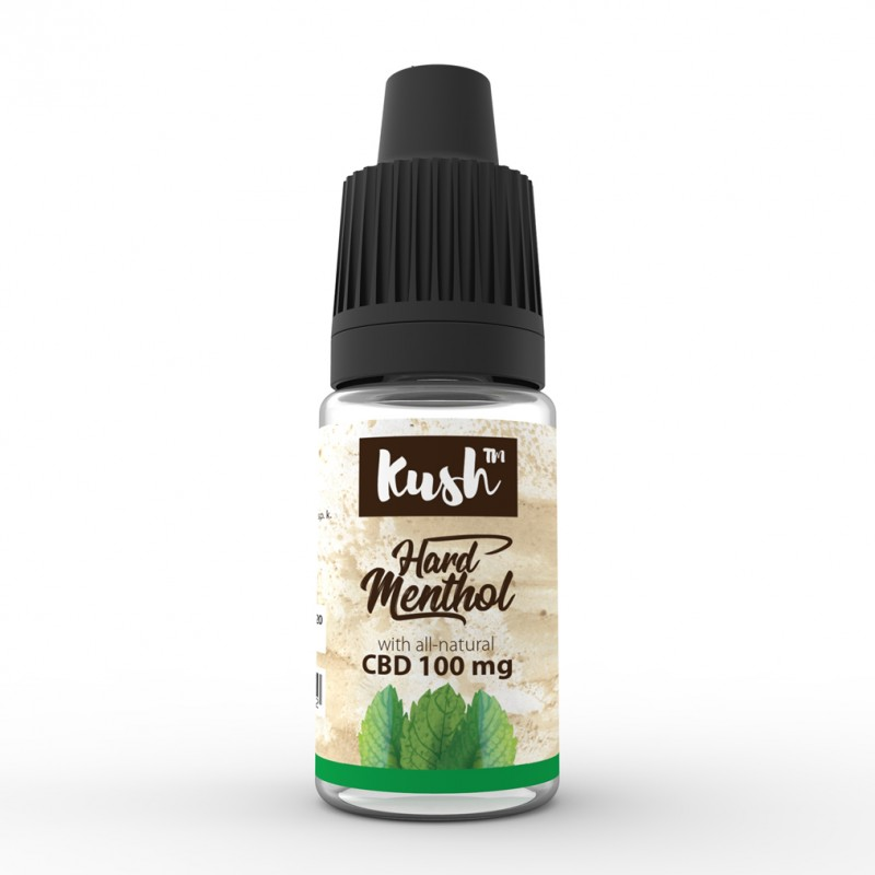 Hard Menthol 100 mg CBD 10 ml