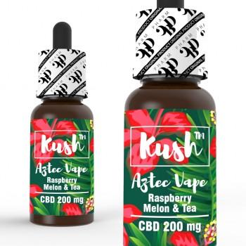 CBD Kush Standard - Aztec Vape 10 ml 200 mg