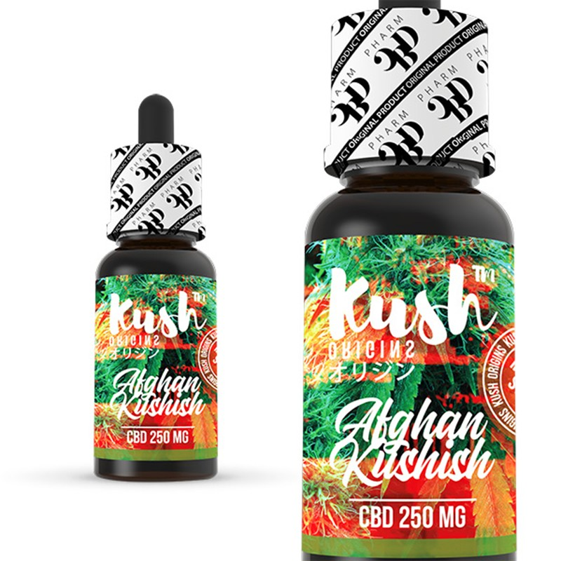 Afghan Kushish 250 mg CBD 10 ml