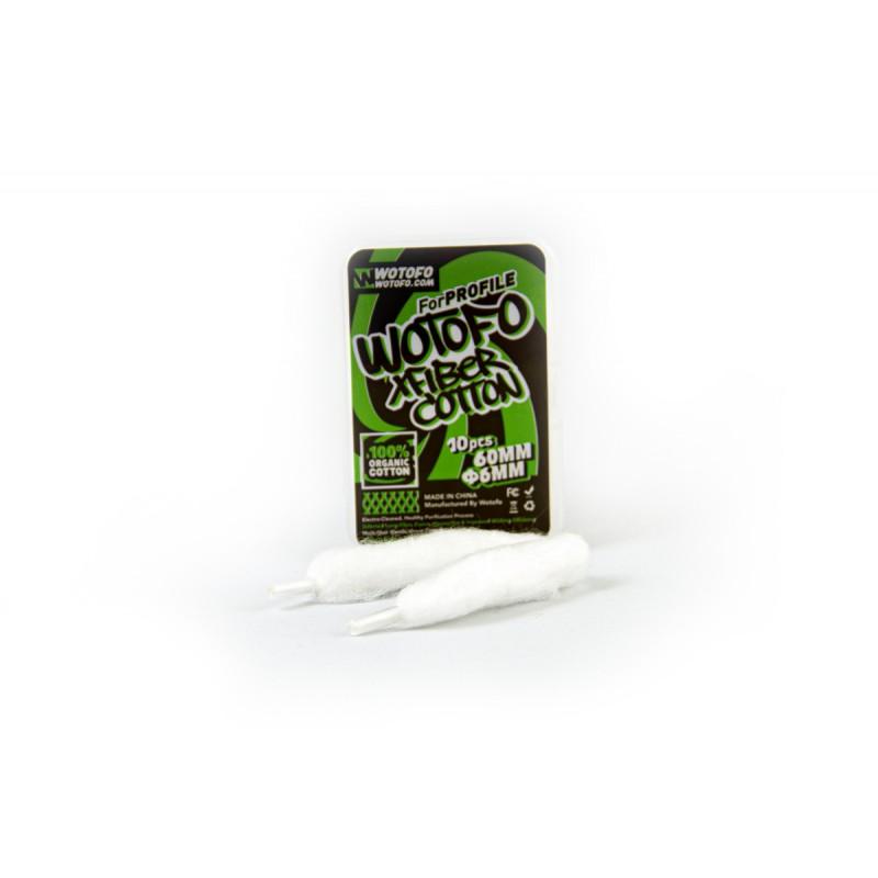 Bawełna Wotofo Xfiber 6mm